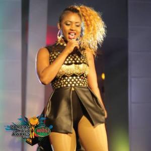 Cleo Ice Queen channeling her inner Beyonce